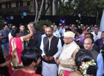 All the Dignitaries being welcomed by the Students of RCERT, College