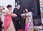 Shri K.R.Dixit felicitates Smt. Swati Pandey