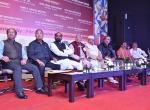L to R (Shri Manish Desai, Shri Vikas Sirpurkar, Shri Hansrajji Ahir, Shri Shantaram Potdukhe, Shri Kiran Shantaram, Shri Mike Pandey and Shri Sanjay Deotale)