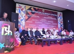 Shri Mike Pandey Addressing the audience during the Chanda International Documentary Film Festival.