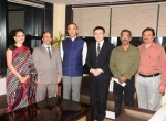 L to R (Ms Swati Pandey, Shri Manish Desai, Mr Yoshiaki ITO, Mr Junichi Kakuta, Shri Anil Kumar, Shri A.K.Maharaja )